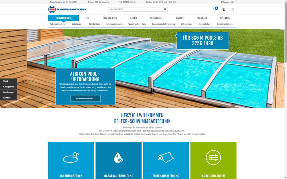 Grafikdesign Screendesign Fkb Onlineshop
